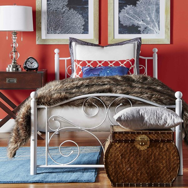 Clive Twin Platform Bed by Andover Mills