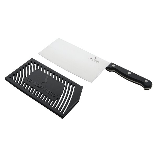 Chopped 7 Stainless Steel Cleaver with Guard by Viking