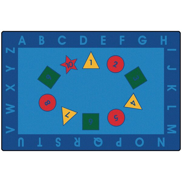 Value Plus Early Learning Area Rug by Carpets for Kids