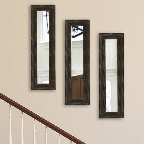 Panel Accent Mirror (Set of 3) by Brayden Studio