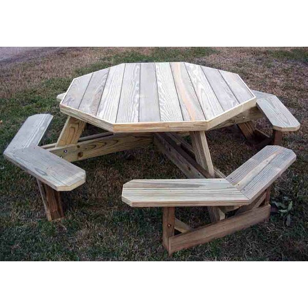 Arturo Wooden Picnic Table by Freeport Park