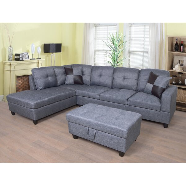 Swynford Sectional With Ottoman By Winston Porter