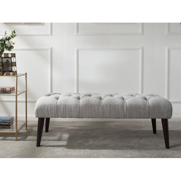 Batehaven Wood Bench by Darby Home Co