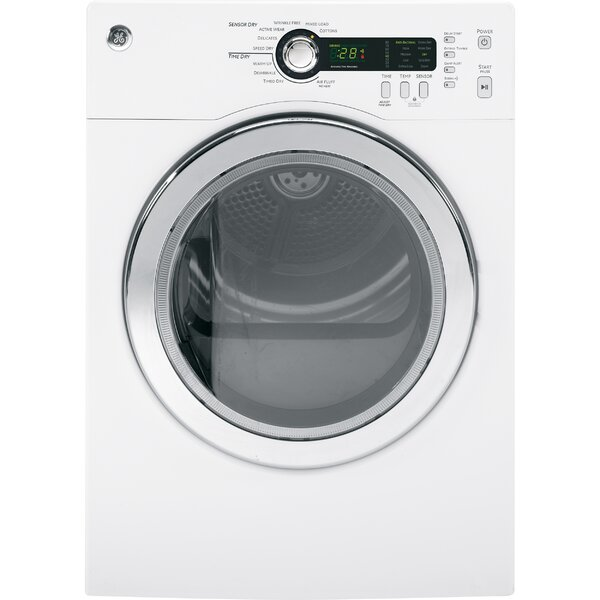 4.0 cu. ft. High Efficiency Electric Dryer by GE Appliances