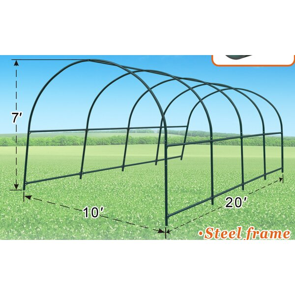 10 Ft. W x 20 Ft. D Greenhouse by Strong Camel