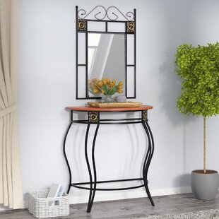 Casson Console Table and Mirror Set