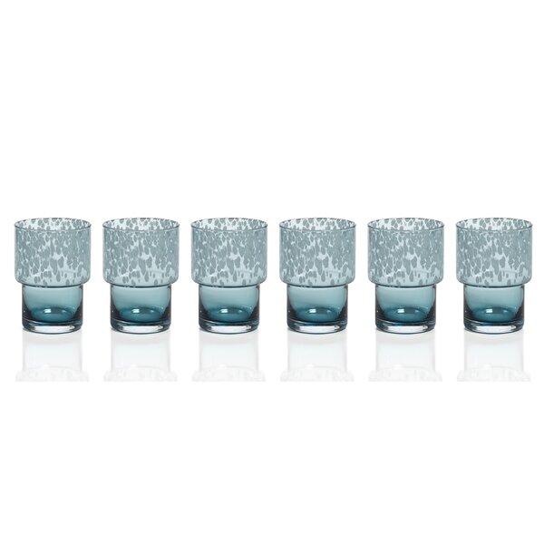 Macleod Dotted Rocks Glass (Set of 6) by Brayden Studio