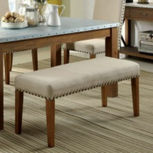 Shearer Upholstered Bench by Gracie Oaks