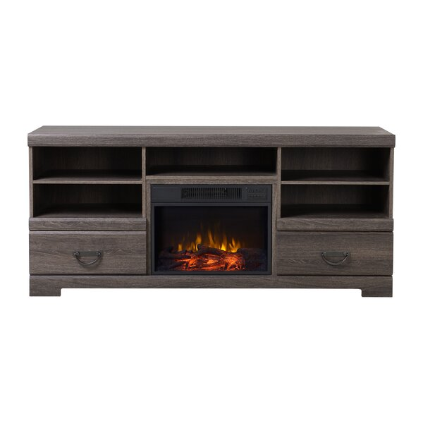 Laven Media Electric Fireplace TV Stand by Homestar
