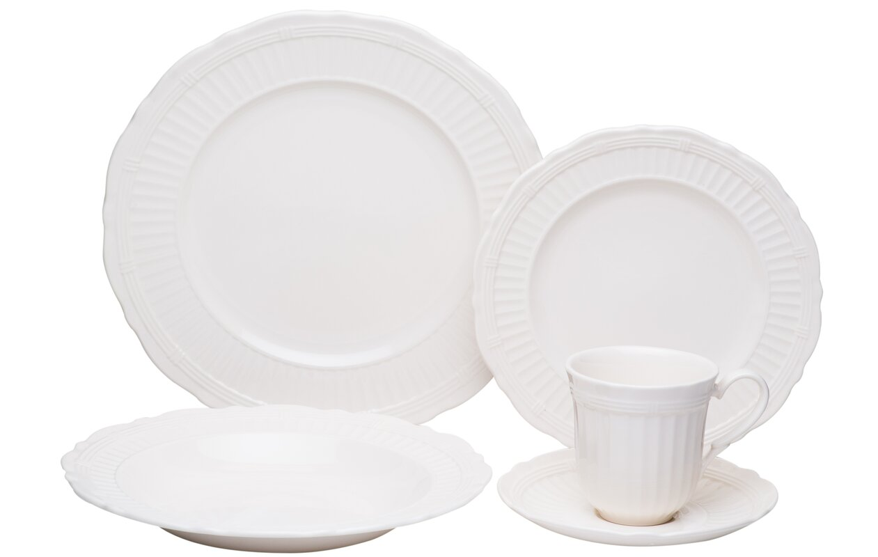 Tuscan Villa 20 Piece Dinnerware Set Service For 4  sc 1 st  Castrophotos & 20 Piece Dinnerware - Castrophotos