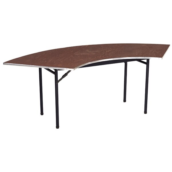Semi Circle Folding Table by AmTab Manufacturing Corporation