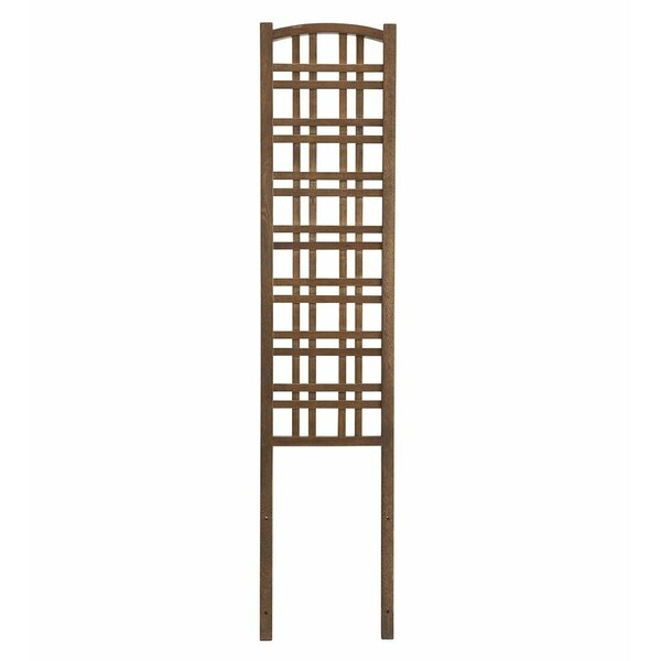 Outdoor Wood Lattice Panel Trellis by Plow & Hearth