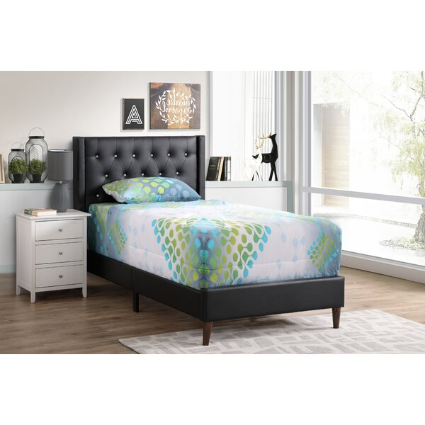 Stgermain Upholstered Standard Bed by Wrought Studio