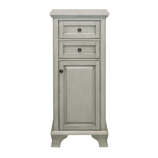 Levesque 19 W x 43.25 H Linen Tower by Lark Manor