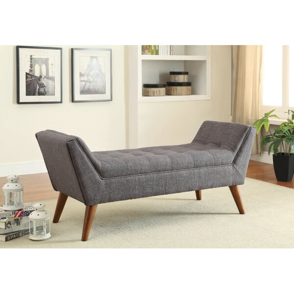 Courtemanche Upholstered Bench by George Oliver