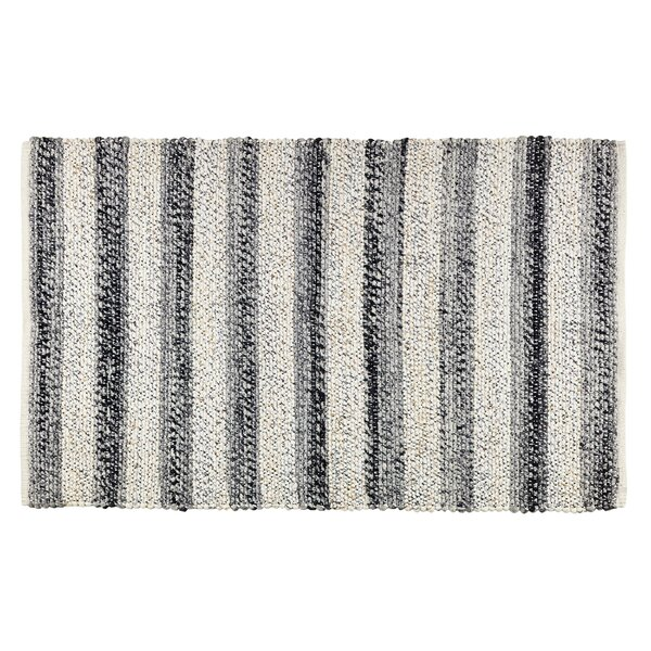 Hamelin Black/Ivory Area Rug by Better Trends
