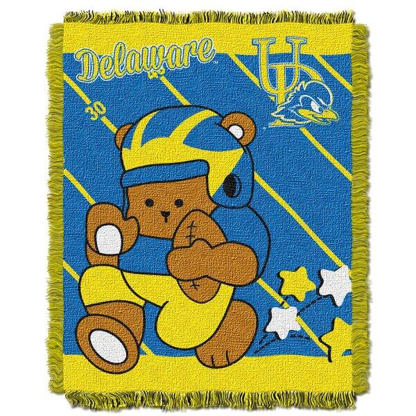 Collegiate Delaware Baby Blanket by Northwest Co.