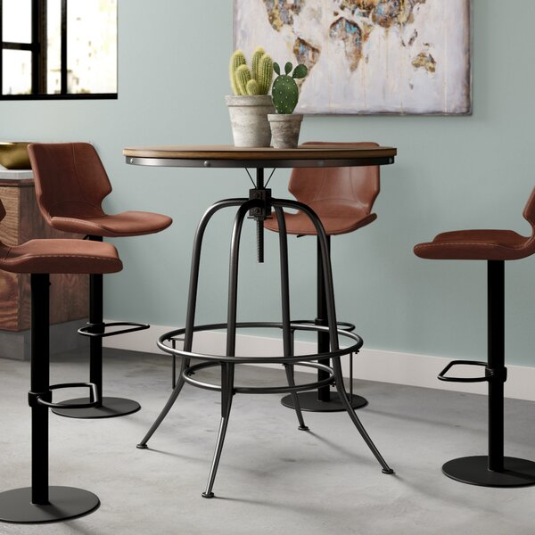 Alva Round Counter-Height Dining Table by Trent Austin Design