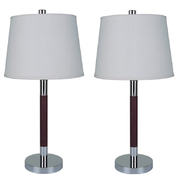 Gerson Steel Rod 28 Table Lamp (Set of 2) by Latitude Run