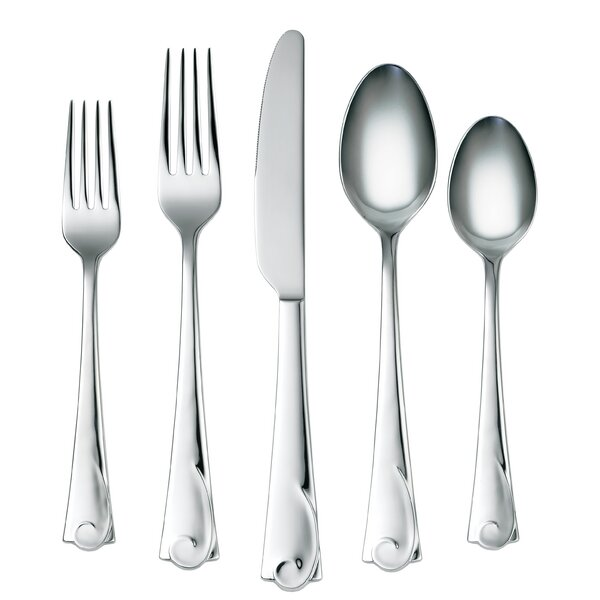Maya Mirror 45 Piece Flatware Set by Corelle