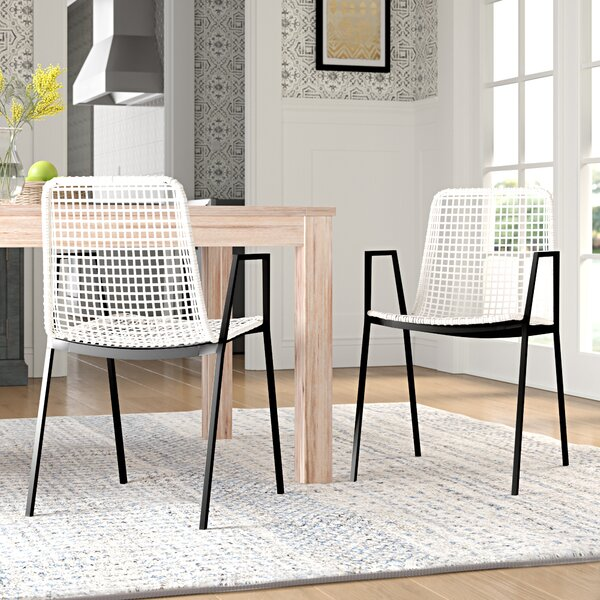 Vicky Upholstered Dining Chair (Set of 2) by Mistana