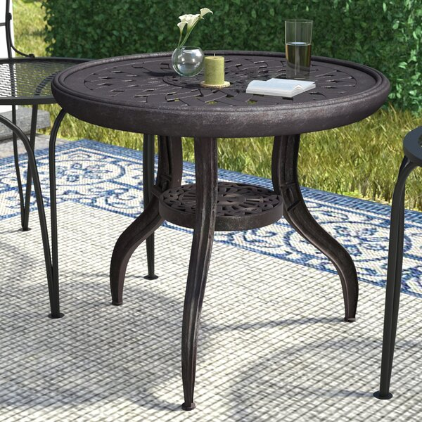 Vandyne Metal Side Table by Darby Home Co