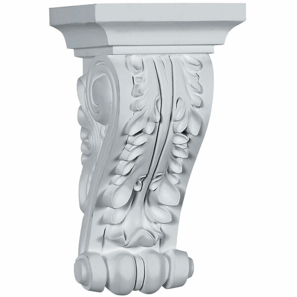 Acanthus 10 5/8H x 5 1/2W x 5 3/8D Corbel by Ekena Millwork