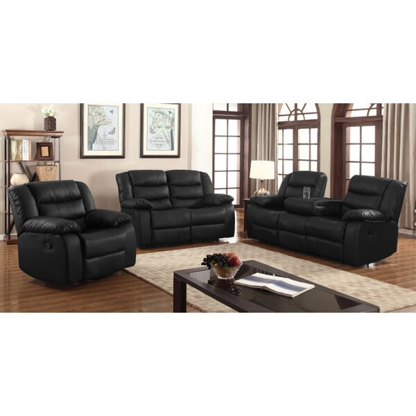 Hilger Reclining Configurable Living Room Set by Red Barrel Studio