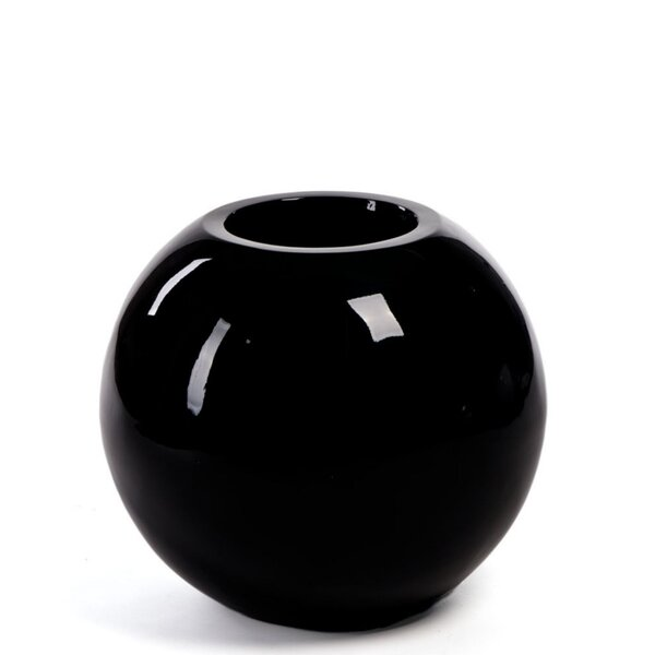 Zwolen Round Polyresin Pot Planter by Orren Ellis