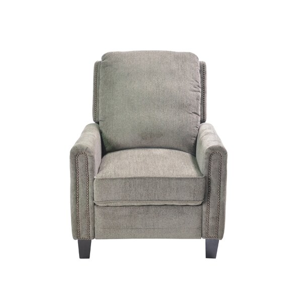 Castaldo Push Back Manual Recliner by Fleur De Lis Living