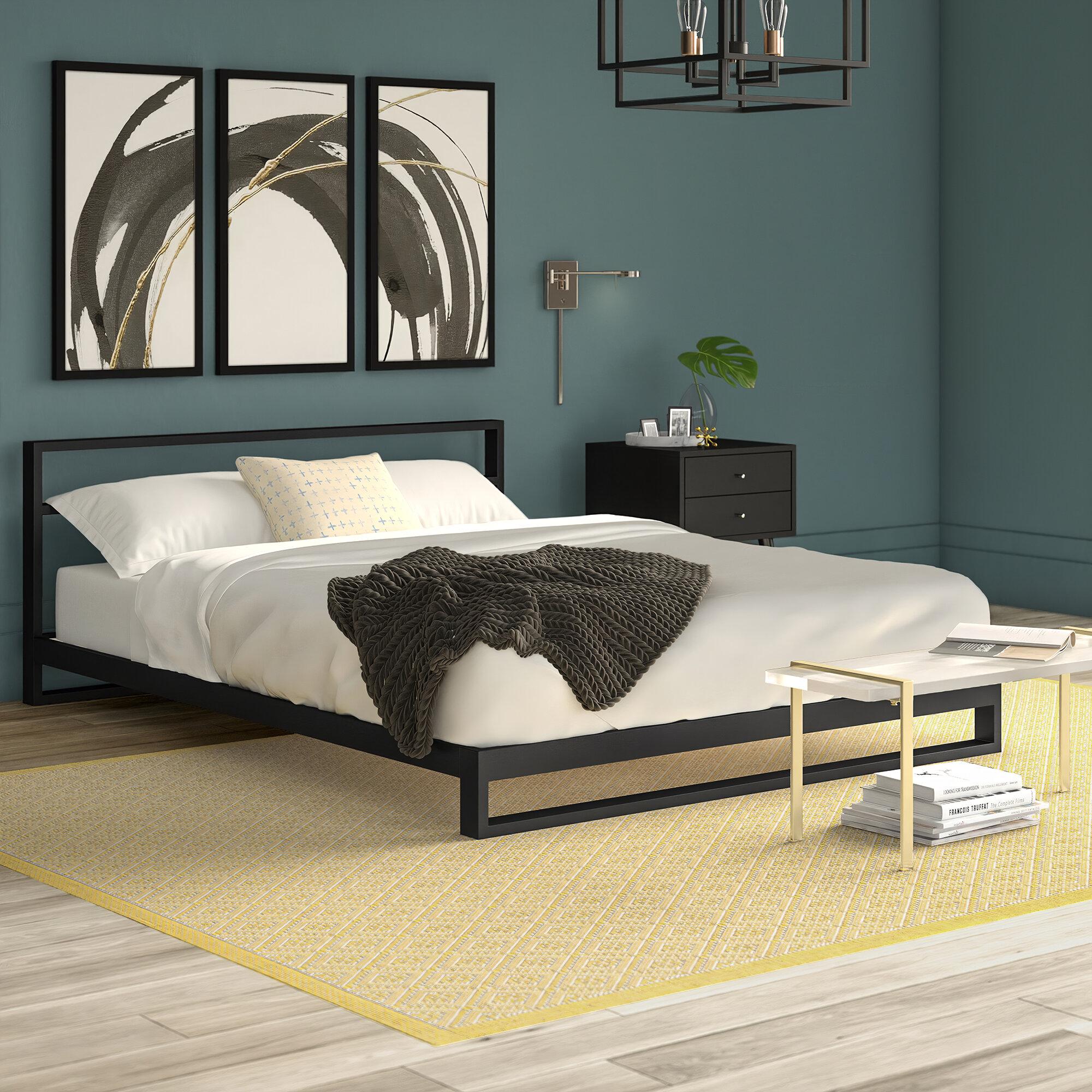 Mercury Row Rhoton Platform Bed Reviews Wayfair