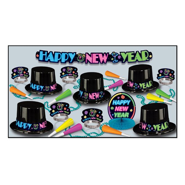 Neon Party Hat Set by The Holiday Aisle