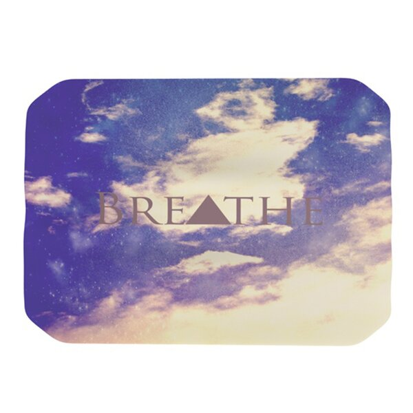 Breathe Placemat by KESS InHouse