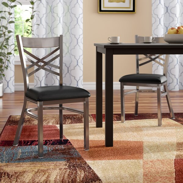 MacArthur Coated Upholstered Dining Chair (Set Of 2) By Ebern Designs