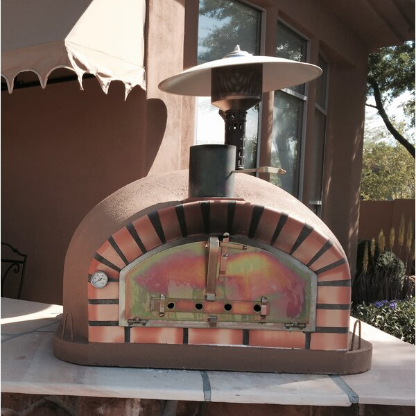 Traditional Brick Pizzaioli Wood Fire Oven by Authentic Pizza Ovens