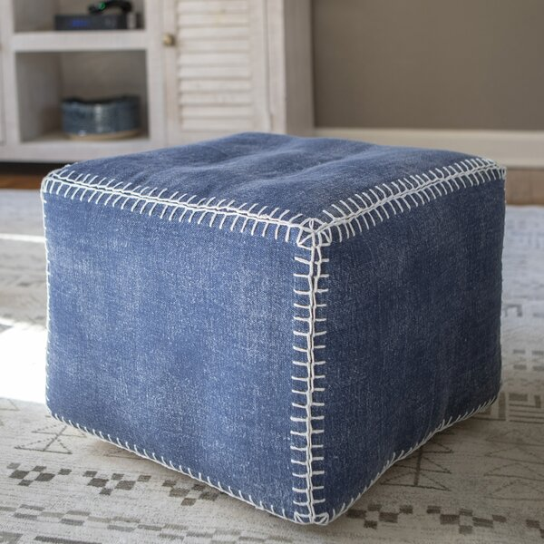 Lovejoy Square Pouf by Foundry Select