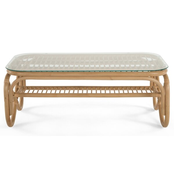 Cristian Sled Coffee Table By Bay Isle Home