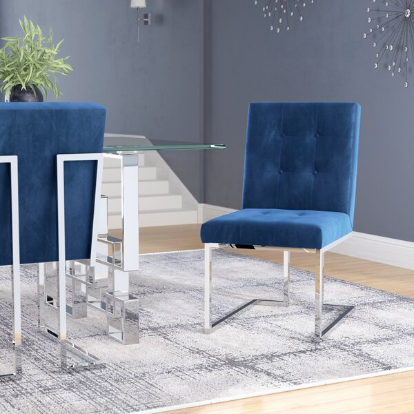 Robey Upholstery Dining Chair (Set of 2) by Willa Arlo Interiors