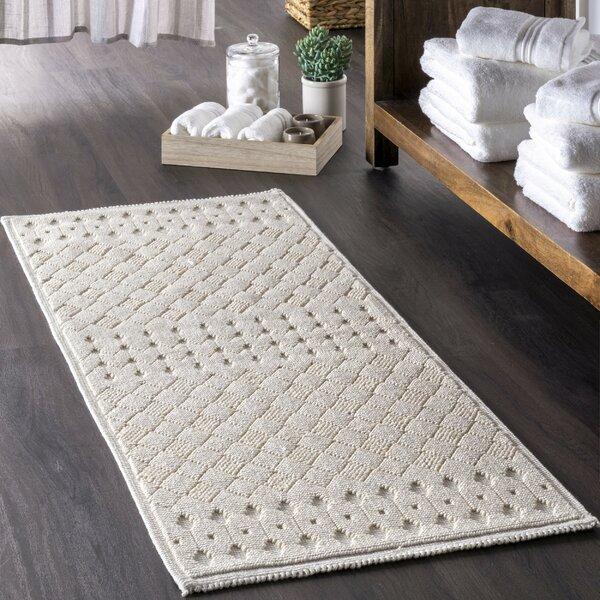 Kaila Rectangle 100% Cotton Bath Rug
