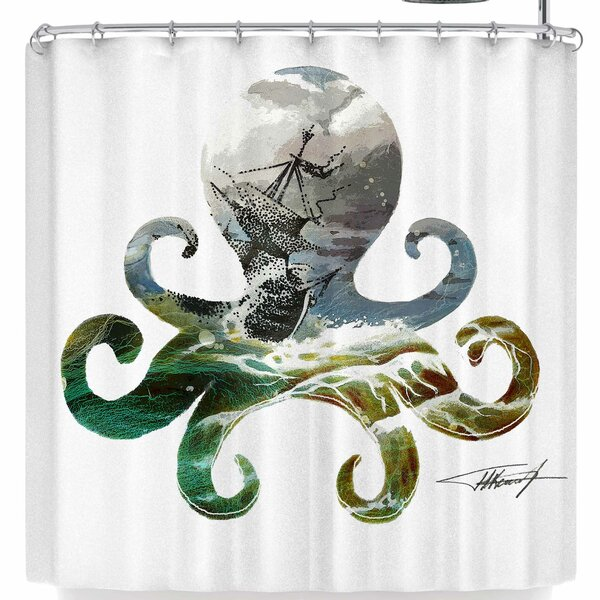 Ivan Joh Octopus Shower Curtain by East Urban Home