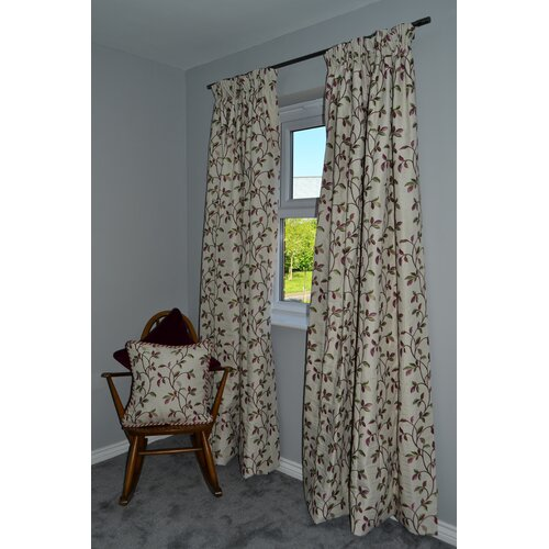 Choate Tailored Pencil Pleat Blackout Thermal Curtains