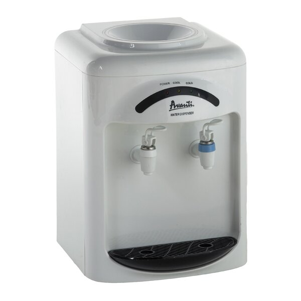 Countertop Room Temperature and Cold Electric Water Cooler by Avanti Products