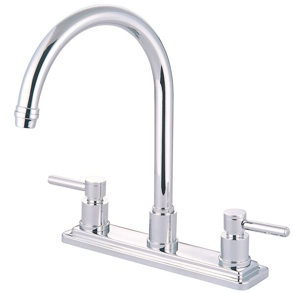 Concord Double Handle Kitchen Faucet by Elements of Design