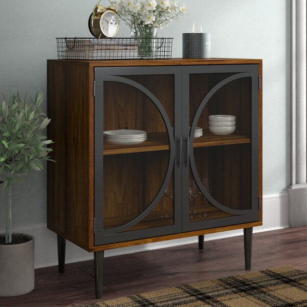 Violetta 2 Door Accent Cabinet by Gracie Oaks Gracie Oaks