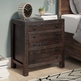 Compare prices Acres Green 3 Drawer Nightstand ByTrent Austin Design