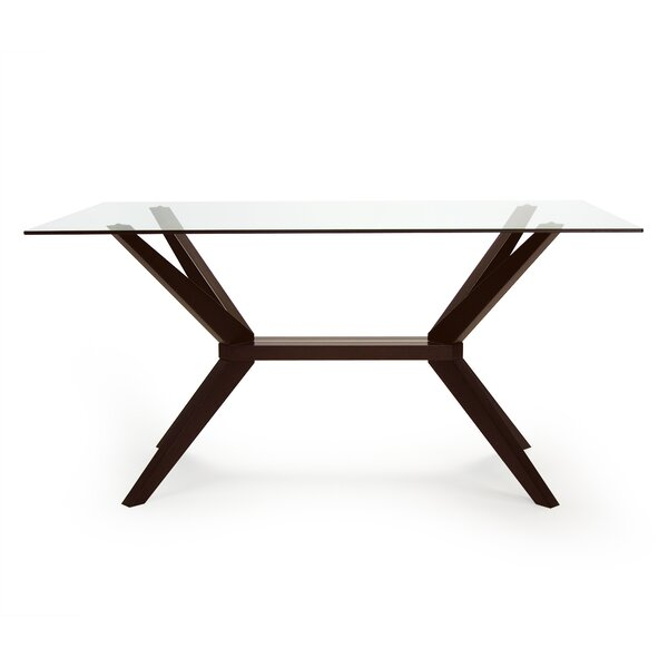 Modern Dyson Dining Table By Wrought Studio Coupon