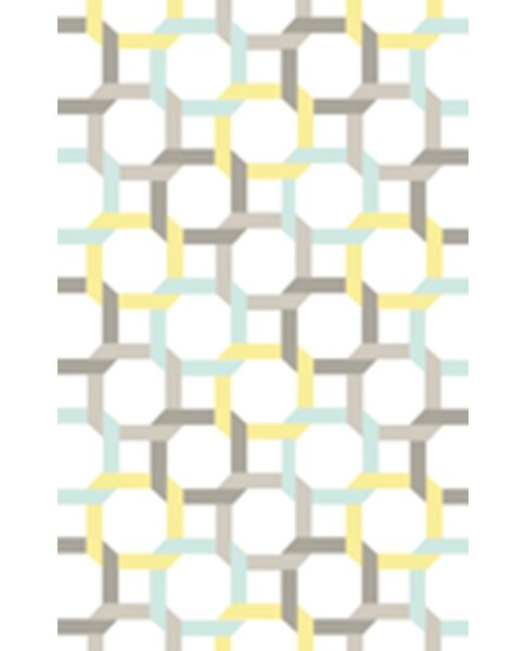 Hand-Loomed Blue/Yellow Area Rug by Martha Stewart Rugs