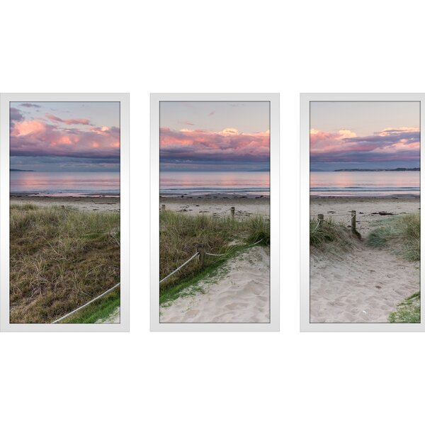 California Dreaming 2 3 Piece Framed Photographic Print Set by Picture Perfect International
