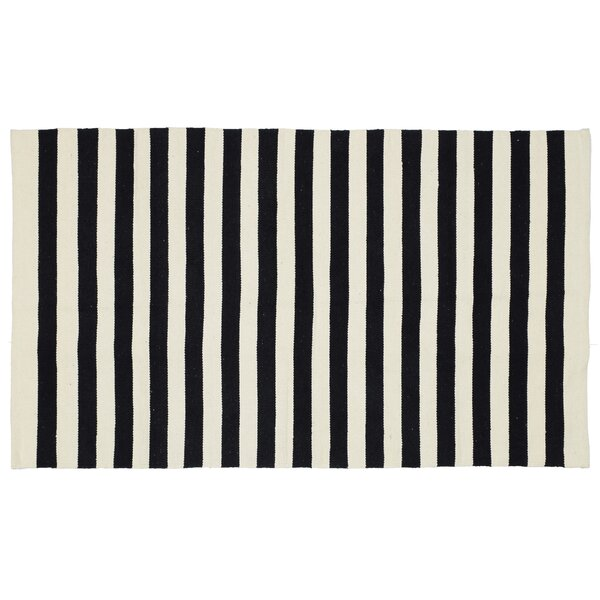 Cabana Handmade Black Area Rug by Madison Home