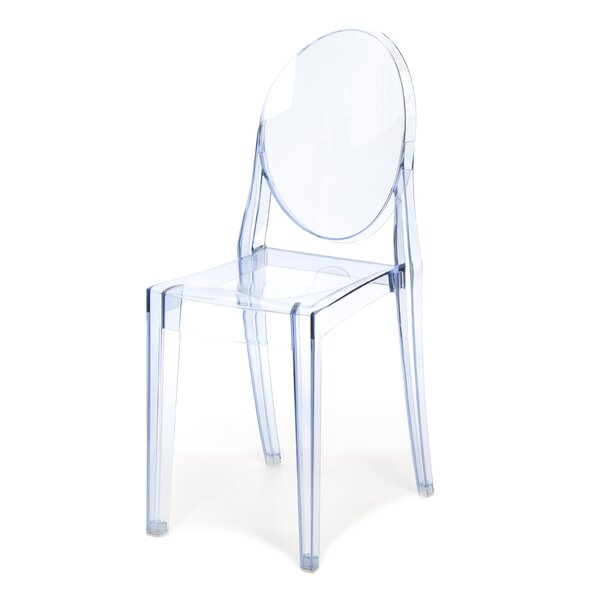 Kartell Ghost Victoria Stacking Patio Dining Chair (Set of 2) by Kartell